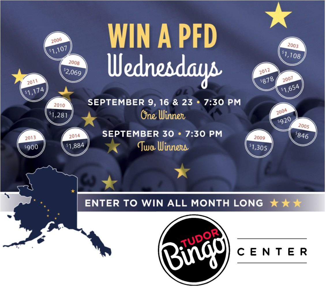 Upcoming Events Tudor Bingo Center Win A PFD!